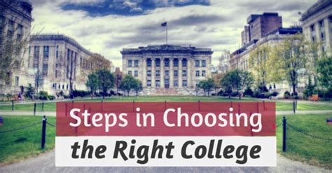 35 Best Tips For Choosing Or Picking The Right College