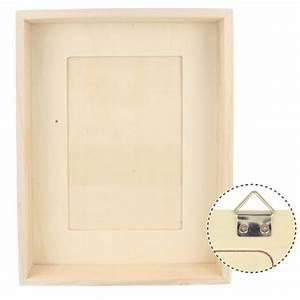 Cadre Photo Profond : cadre photo profond en bois 16 5 x21 5x4cm photo 10x15cm ~ Teatrodelosmanantiales.com Idées de Décoration