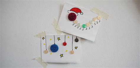 weihnachts bastel material weihnachtskarten mit kindern basteln mit alten kn 246 pfen