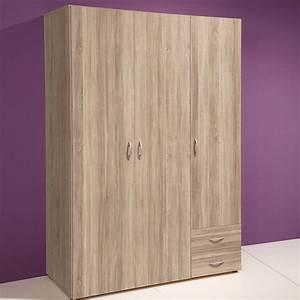 G K Möbel : kleiderschrank base 3 kinderzimmer schrank 3 t rig sonoma eiche 120cm ~ Eleganceandgraceweddings.com Haus und Dekorationen