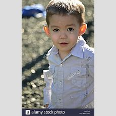 A Handsome Big Brown Eyed 3 Year Old Boy Stock Photo 81096940 Alamy