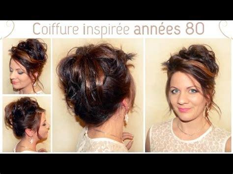 coiffure inspiree des annees  la hairstyle