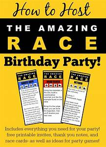 25 best ideas about amazing race party on pinterest With amazing race birthday party templates