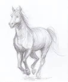 Original Pencil Drawing Horse