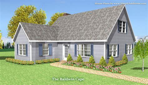 cape house designs baldwin modular cape house plans