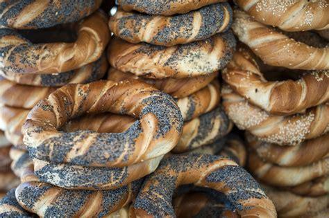 obwarzanek pretzels  bagels