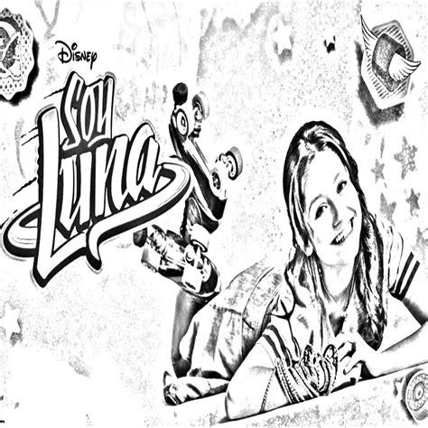 Pinto Dibujos soy Luna Para Colorear