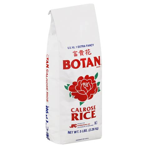 Botan Rice by Botan Calrose Rice 80 Oz 5 Lb 2 26 Kg