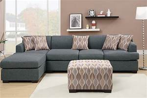 grey fabric chaise lounge steal a sofa furniture outlet With grey sectional sofa los angeles