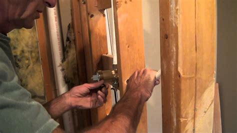 tile shower plumbing tricks   trade youtube