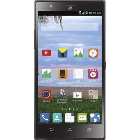 talk android talk zte lever android prepaid smartphone