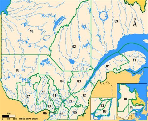 Carte Région Administrative Vierge by R 233 Pertoire Des Barrages