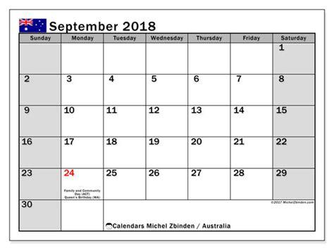 calendar september australia michel zbinden en