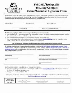 Free 5  Housing Contract Forms