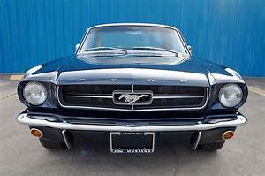 1965 Ford Mustang Coupe – Caspian Blue – A&E Classic Cars