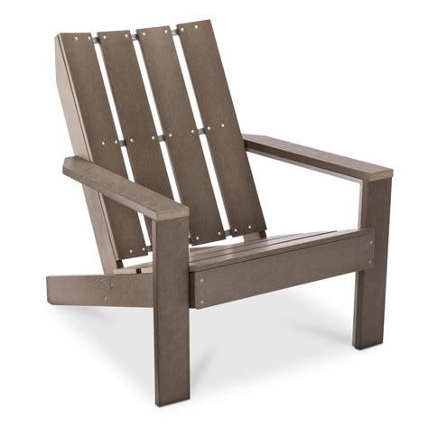 bryant faux wood patio adirondack chair threshold ebay