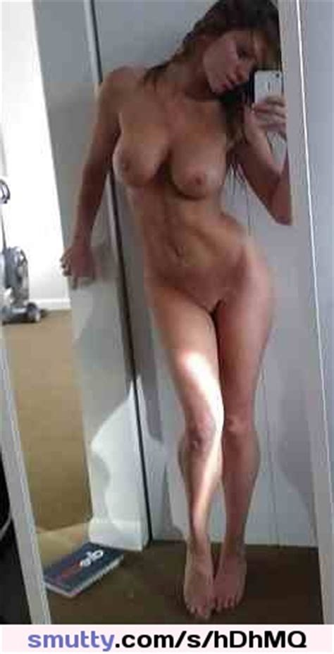 Naked Selfie Mirror Brunette Bigtits Sexy Tall Leggy Hot Smutty Com