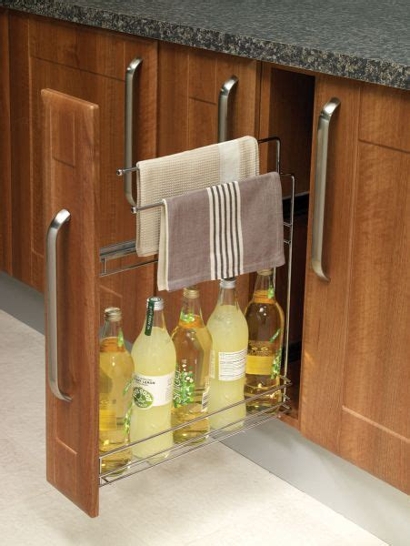 kitchen rail storage 150mm pull out storage rail lark larks 2478
