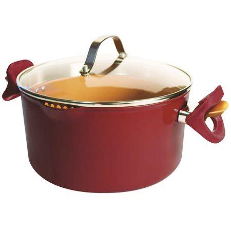 tv red copper pasta pot walmartcom