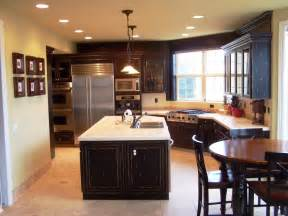 remodeled kitchens with islands home and condo
