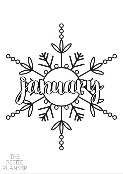 January Bullet Journal Ideas & Spreads for 2020 ⋆ The ...