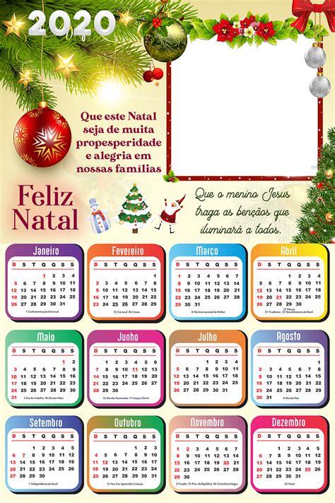 calendario frase de feliz natal imagem legal