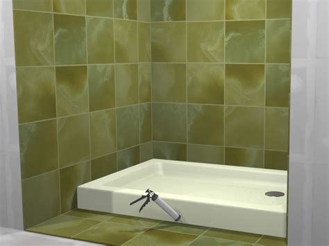 How To Tile A Shower by How To Tile A Shower With Pictures Wikihow