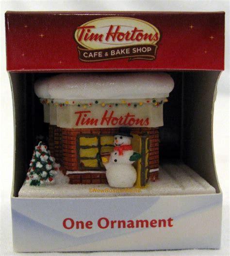 tim hortons christmas ornametns canada tim hortons coffee cafe store tree ornament horton s new for 2012 ebay tim horton
