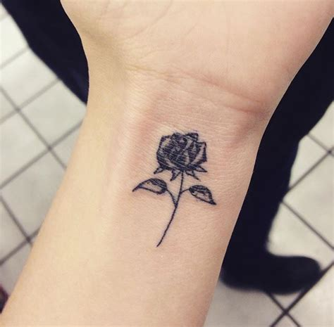 Rose Wrist Tattoos Designs, Ideas And Meaning Tattoos