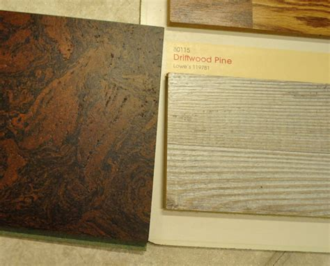 pergo driftwood pine weighing kitchen floor options cork or pergo young house love