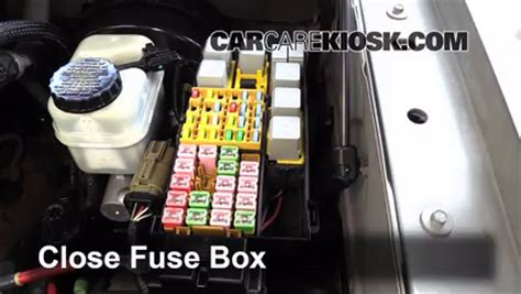 2003 Ford Econoline Fuse Box Diagram V 6 by Blown Fuse Check 2002 2010 Mercury Mountaineer 2006