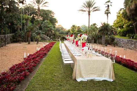 top  garden wedding venues florida fairchild tropical