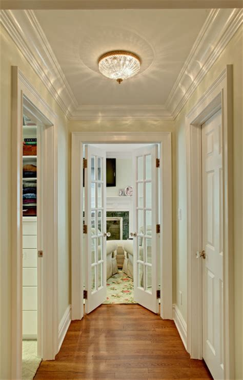 closets and hallway to sitting room traditional