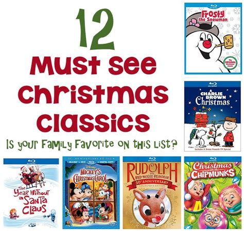 12 Must See Christmas Classics For Kids  Mother's Home
