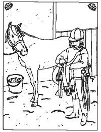 Ideale dieren om niet alleen naar te vind je onze kleurplaten van paarden mooi? Kleurplaten Paarden Die Springen | kleurplaten van dieren