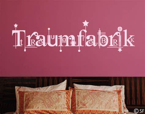 Wandtattoo Schlafzimmer Traumfabrik by Wandtattoo Traumfabrik Universumsum De Wandtattoos
