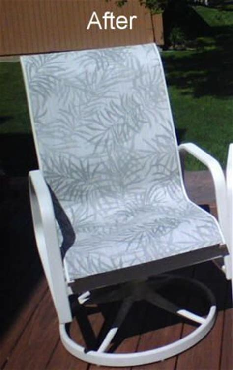 patio sling fabric replacement fl  green bamboo leaf