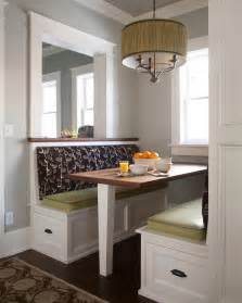 kitchen booth seating kitchen transitional with banquette