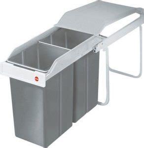 poubelle hailo cuisine poubelle sous évier et coulissante comparatif des