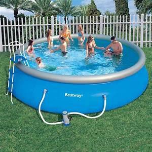 Bestway Ou Intex : piscina infl vel litros bestway gigante grande ~ Melissatoandfro.com Idées de Décoration