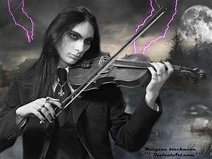 Gothic love and violin.... by morganablackmoon on DeviantArt