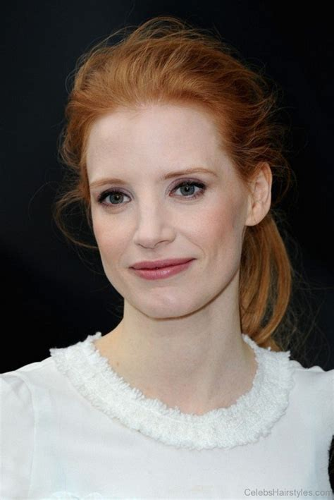 hairstyles jessica chastain