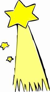 Shooting Star(colored) Clip Art at Clker.com - vector clip ...