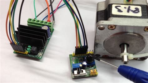 Stepper Motor Pulse Generator With Ramping Youtube