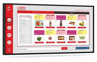 Retail Signage Digital Screen Touch Interactive Customer