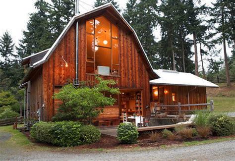 Sheds Turned Into Homes by Whidbey Island Barn Conversion By Shed Architects
