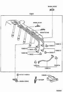 Toyota Celica Ignition Coil Lead Wire  Cord  Coil