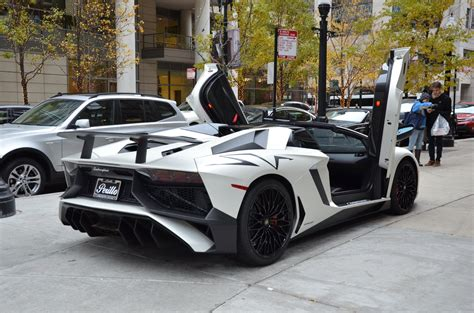 lamborghini aventador sv roadster in 2017 lamborghini aventador roadster lp 750 4 sv roadster stock gc mir146 for sale near chicago