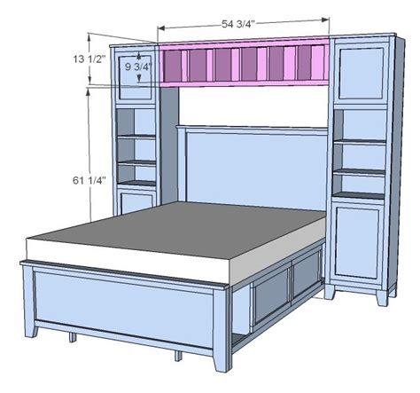 25 best ideas about storage headboard on bed