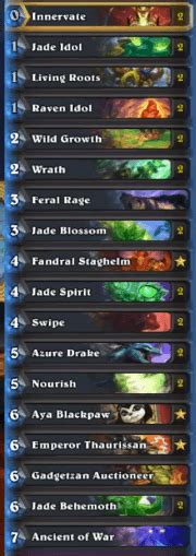 Kolento Jade Golem Druid Deck Msg  Hs Decks And Guides